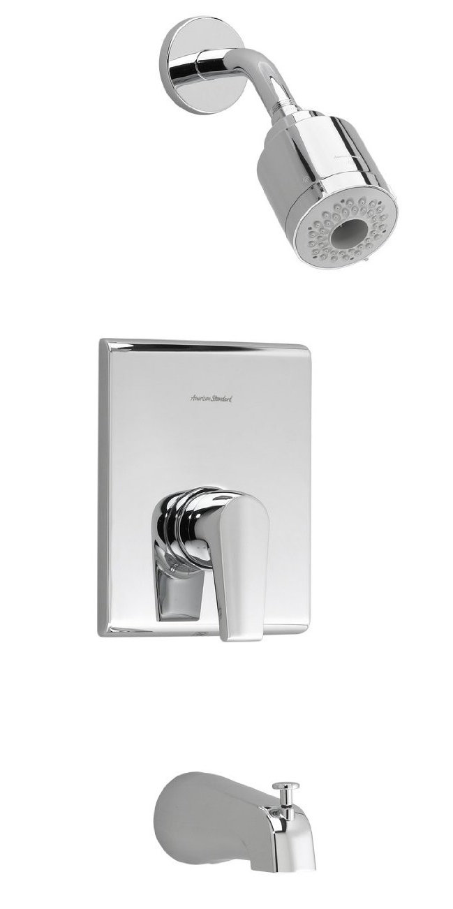 american standard t590 508 295 studio bath and shower trim ki tech 4 hole bath and shower mix amp kit st18277