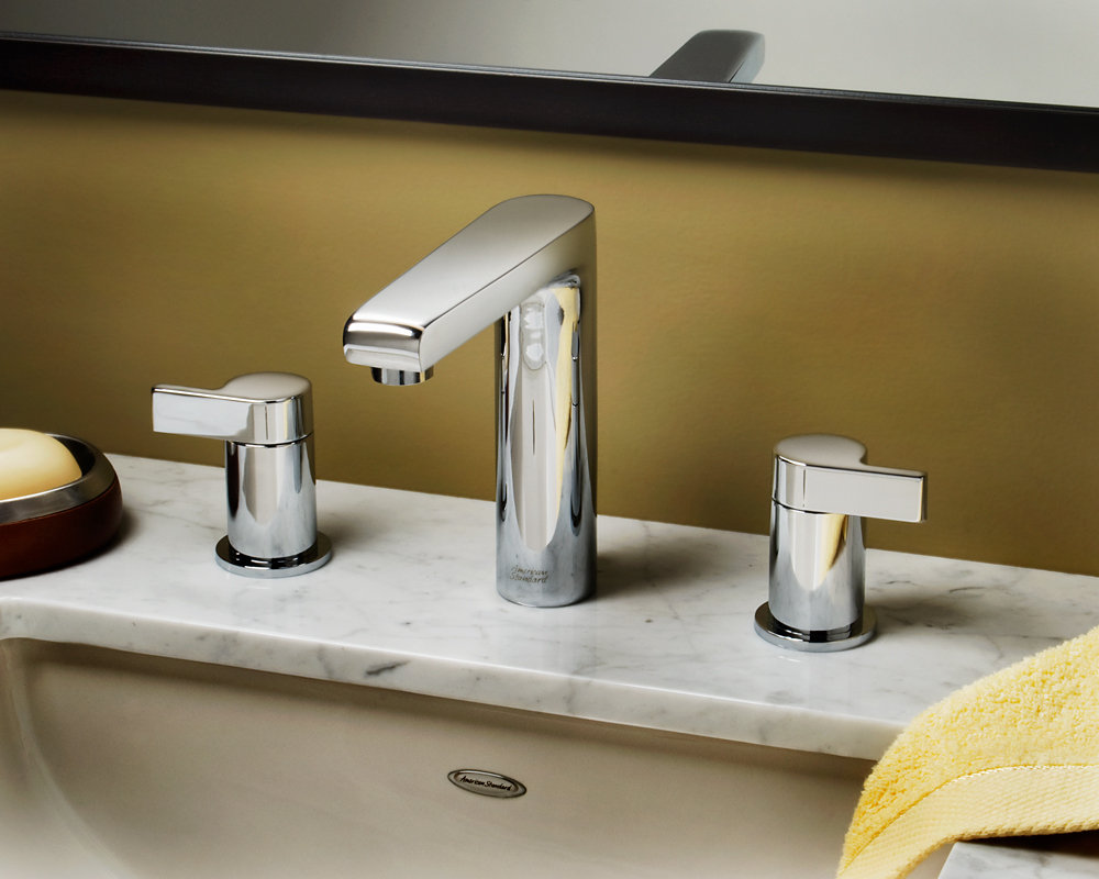 Studio Widespread faucet. American Standard 2590 801 002 Studio Widespread Faucet with Metal