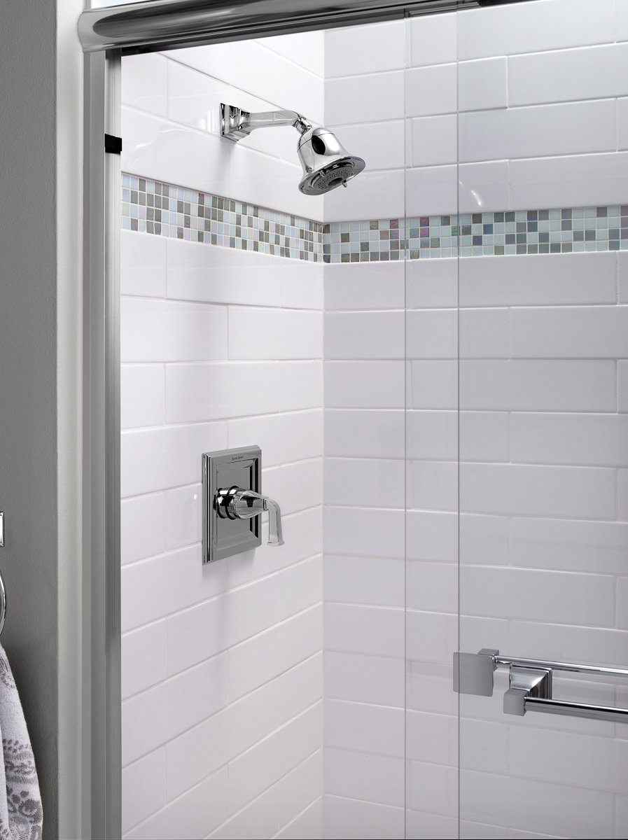 Exceptional Town Square Shower Only Trim Kit With FloWise Showerhead