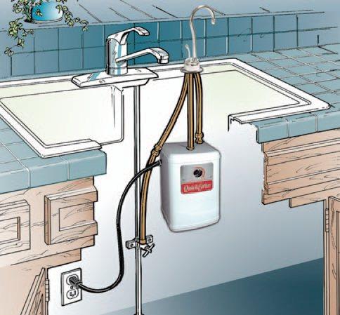 Waste king h711 u sn quick hot water dispenser faucet tank wasteking install workwithnaturefo