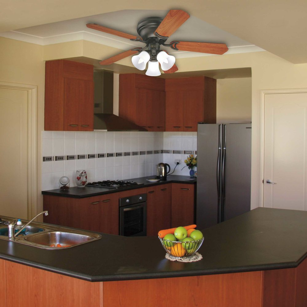 Ceiling Fans Kitchen: Westinghouse Lighting 7837700 Contempra Trio 3-Light 42