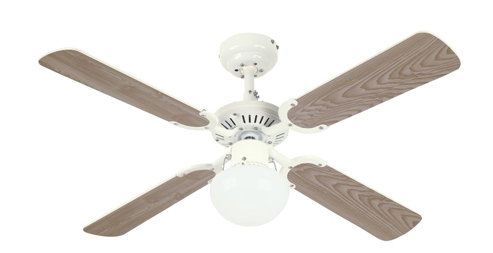 Westinghouse 7813365 princess ambiance 42 inch ceiling fan white d white washed pine aloadofball Gallery