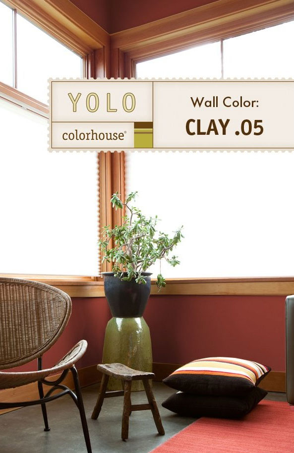 Inspired Eggshell Interior Paint, Clay .05, Quart - House Paint ...