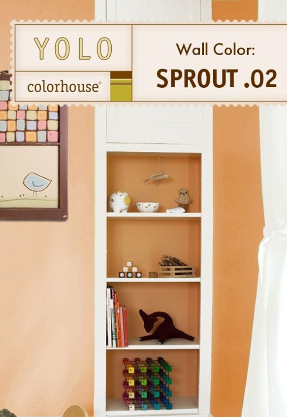 Inspired Semi-Gloss Interior Paint, Sprout .02, 5-Gallon - House ...