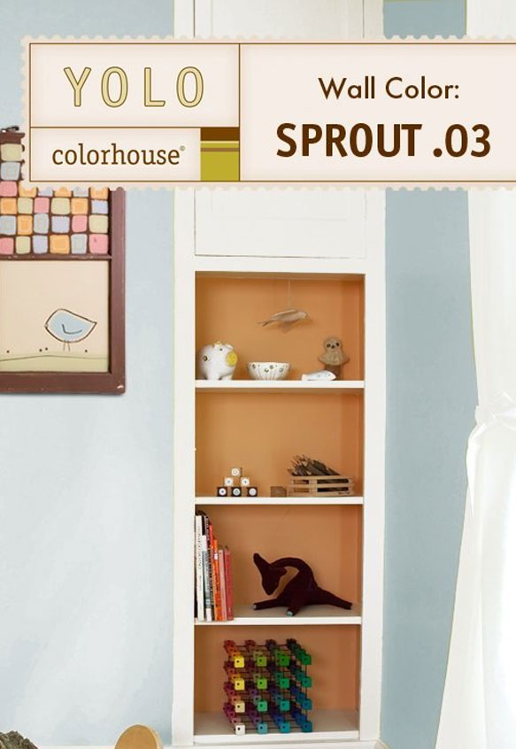 Inspired Eggshell Interior Paint, Sprout .03, Quart - House Paint ...