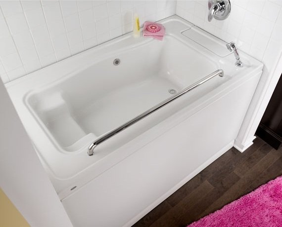 Bathtub buying guide tools home improvement for Bathtub shapes and sizes