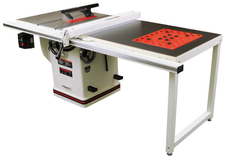 Jet 708678pk 3hp 50 Inch Deluxe Xacta Saw With Downdraft