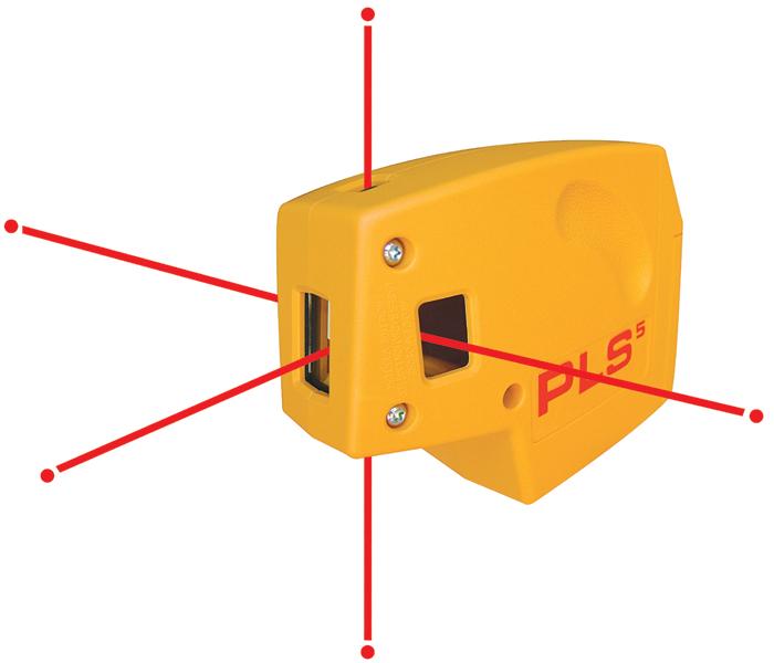 Pls Laser Pls 60541 Pls 5 Laser Level Tool Yellow Line