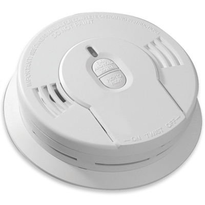 kidde i9010 10 year sealed lithium battery operated smoke alarm with memory a. Black Bedroom Furniture Sets. Home Design Ideas