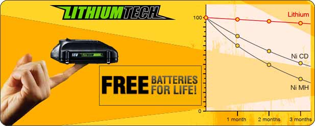 LithiumTech free batteries for life