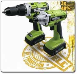 RK1801K2 LithiumTech Combo Kit