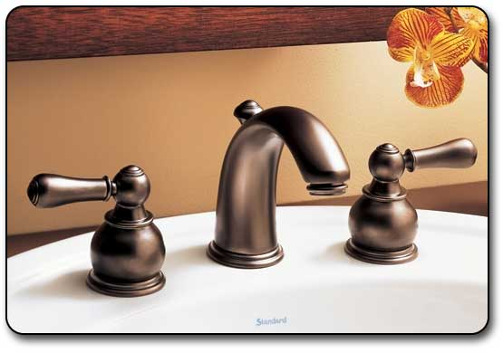 Hampton Faucet Shown in Blackened Bronze