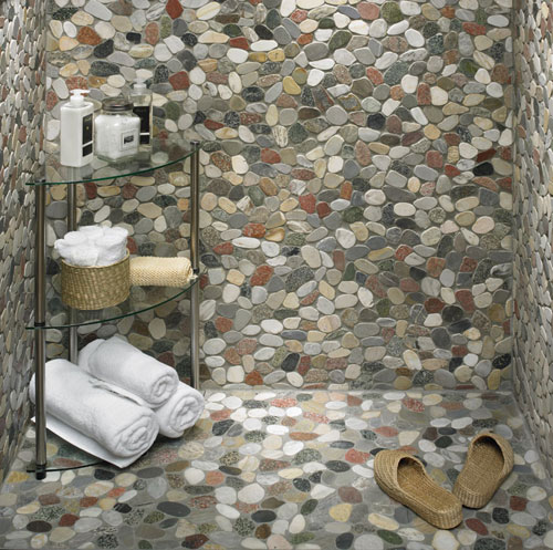 Arizona Tile ST 209 Sterling 12 By 12 Inch Tumbled Rubble
