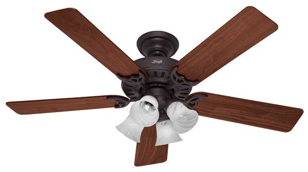 Hunter 20183 52 inch studio series ceiling fan brushed nickel with hunter 25587 studio series ceiling fan aloadofball Image collections