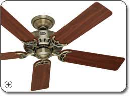Hunter 25511 Summer Breeze 52 Inch 5 Blade Ceiling Fan