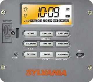 Sylvania 40 Amp 120 Volt Single Pole Zip Set Outdoor