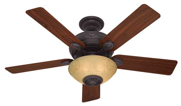 Hunter 21894 52 inch westover heater fan ceiling fans amazon hunter 21894 westover four seasons heater fan mozeypictures Image collections