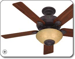 Hunter 21894 Westover Four Seasons Heater Fan