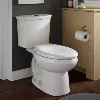 Charmant American Standard H2Option Siphonic Dual Flush Elongated Toilet