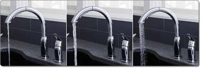 American Standard Arch Kitchen Faucet with Pull-Out Spray