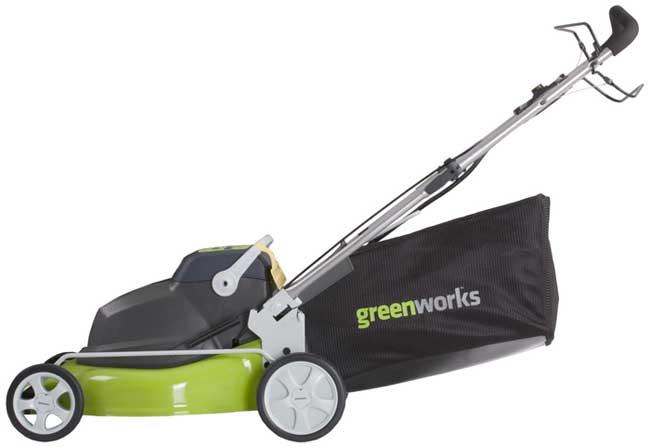 Amazon Com Greenworks 25092 18 Inch 24 Volt Cordless