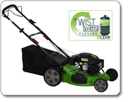 LEHR - LM139SP Three-in-One Propane-Powered Self-Propelled Eco Mower