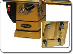 retractable caster system