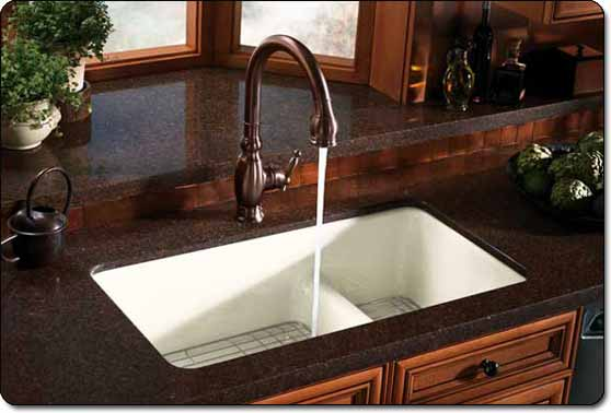 vinnata faucet in use - Kohler Kitchen Sinks