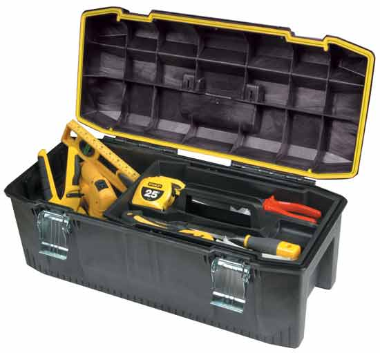 Stanley 028001l 28 Inch Structural Foam Toolbox Tool Box