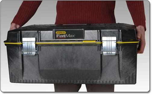 The Stanley 028001L FatMax 28-Inch Structural Foam Water-Resistant Toolbox