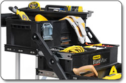 The Stanley 020800R FatMax Four-in-One Mobile Work Station