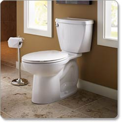 American Standard Cadet 3 Elongated Toilet Bowl, White