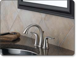 Delta Lahara Two-Handle Mini-Widespread Lavatory Faucet
