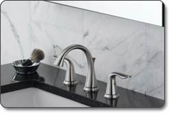 Delta Lahara Two-Handle Widespread Lavatory Faucet