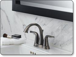 Delta Lahara Double-Handle Lavatory Faucet