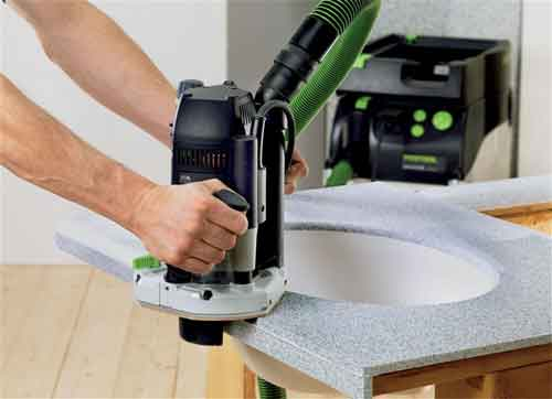 Festool of 2200 eb router fixed base power routers amazon com
