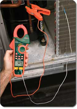 Extech EX623 400A Dual Input AC/DC Clamp Meter + NCV + IR Thermometer