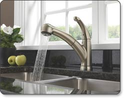 Delta Palo Single-Handle Pull-Out Kitchen Faucet