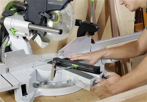 festool 561287 kapex ks 120 sliding compound miter saw power miter saws. Black Bedroom Furniture Sets. Home Design Ideas