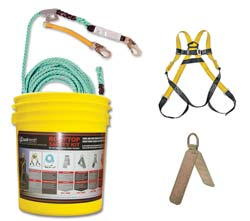 Qual-Craft Bucket of Safety Kit Product Shot