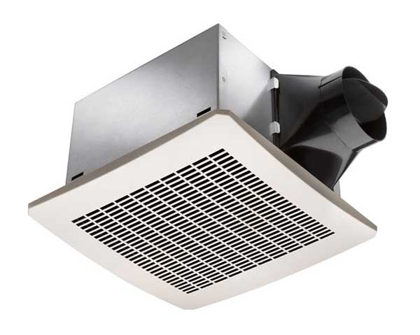 Delta breezsignature vfb25ac 80 cfm exhaust bath fan less for 3 bathroom exhaust vent