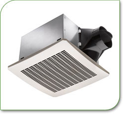 Delta Electronics VFB25ACH Breez 80 CFM Humidity Sensor Exhaust Fan