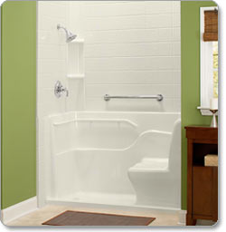 shower stalls with seats. American Standard 30-Inch By 60-Inch Seated Shower With Drain, Left Hand Stalls Seats