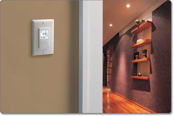 Solar Time Table Programmable Switch on wall