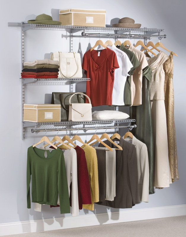 The Telescoping Rods And Expanding Shelves Make Reconfiguring Your Closet  Quick And Simple.
