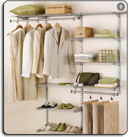 Amazon.com: Rubbermaid Configurations 3H8800 3  To 6 Foot Deluxe Custom  Closet Kit: Home U0026 Kitchen