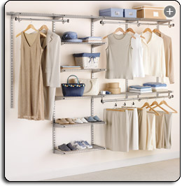 The Telescoping Rods And Expanding Shelves Make Reconfiguring Your Closet  Quick And Simple. View Larger.