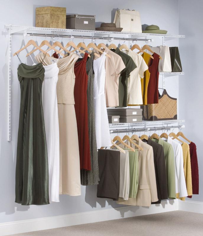 Amazon Com Rubbermaid Configurations Closet Kits 4 8 Ft
