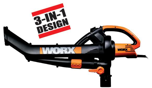 worx leaf blower vacuum mulcher reviews