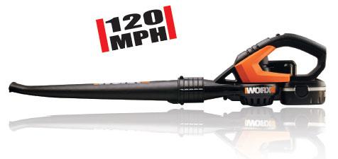 Amazoncom Worx WG541 18Volt NiCd Cordless BlowerSweeper Lawn
